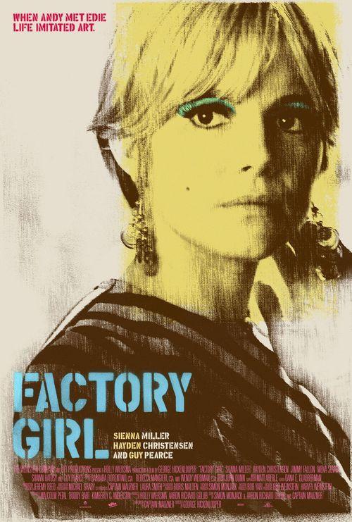 Factory girl Dir. by George Hickenlooper #AmericanFilm #Drama #Bio Starring, Sienna Miller, Guy Pearce,  Jimmy Fallon and Hayden Christensen