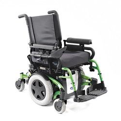 Battery Powered Electric Wheelchairs Allow Users With Reduced Upper Body Strength Or Mobility To Drive Without The Strain Of Propelling Themselves