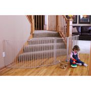 Just what I need to section off kitchen for the puppy! Regalo - 4-in-1 Extra Large Metal Playard $116 Walmart