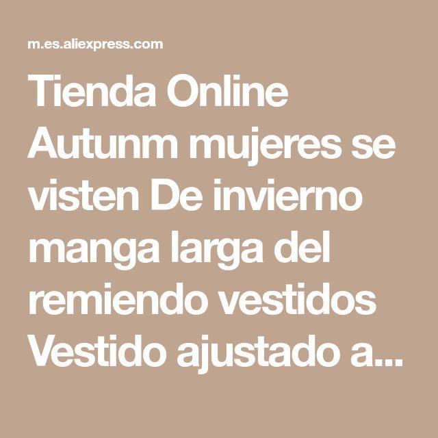 Tienda Online Autunm mujeres se visten De invierno manga larga del remiendo vestidos Vestido ajustado atractivo camisa De vestir Casual Vestido De Varano más el tamaño XXXL | Aliexpress móvil