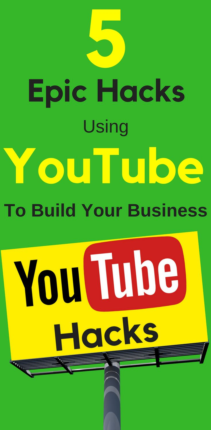 5 Epic Hacks Using YouTube To Build Your Business Video can be a little scary. It's one of the most common blockers for would-be course creators. One way to hone your skills? Get on #YouTube. Learn more... 5 Epic #Hacks Using YouTube To #Build Your #Business