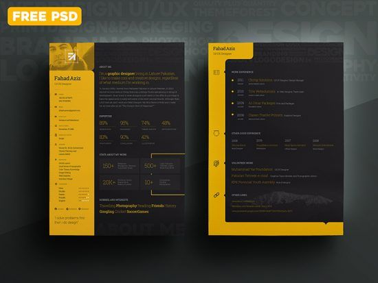 Top 25 best Web designer resume ideas
