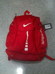 Nike Elite Ball Carry Backpack Red Basketball Bag Hoops Bolsa ...