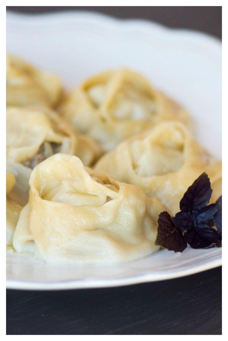 Uzbek manti #manti #dumblings #uzbekrecipes