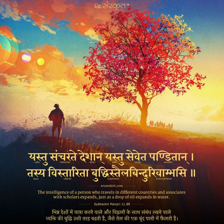 Sanskrit Shloks Sanskrit Quotes, Thoughts & Slokas with