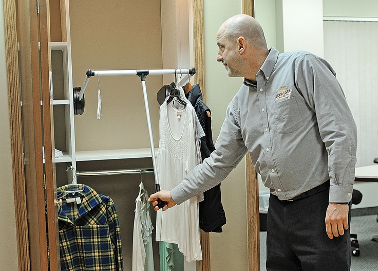 Good Points To Staying In The Home You Have Vs Moving Or Assisted Living  Great CLOSET Idea And Article | Handicap Ideas | Pinterest | Assisted  Living And ...