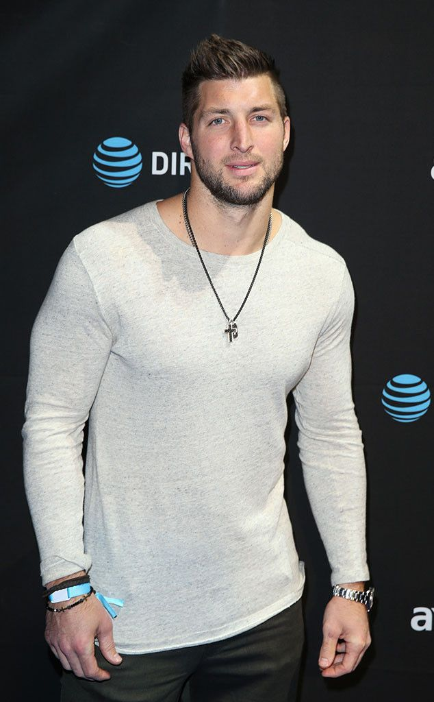 Tim Tebow from Celebs at Super Bowl 2016 | E! Online