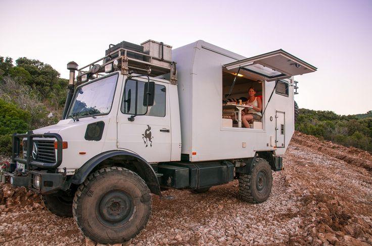 Pin by Oran davis on Unimog Camper   Expedition vehicle ...