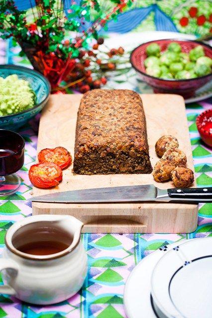Hemsley & Hemsley: Chestnut Stuffing & Mushroom Quinoa Nut Roast (Vogue.co.uk)