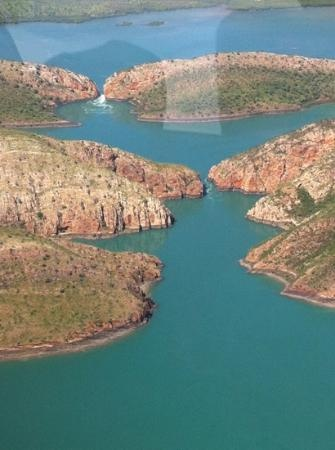 Broome, #Australia:                   south falls flowing.