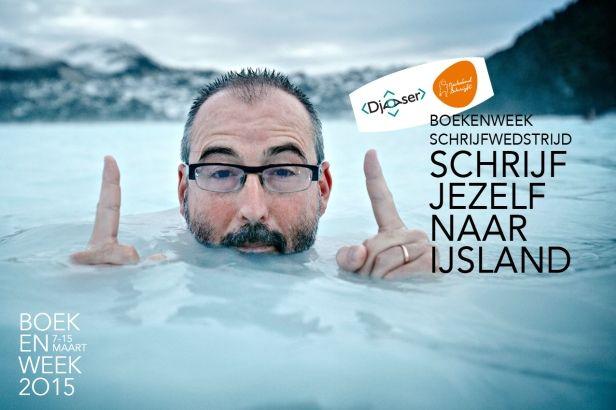 Doe mee met de boekenweekschrijfwedstrijd en schrijf jezelf naar IJsland!