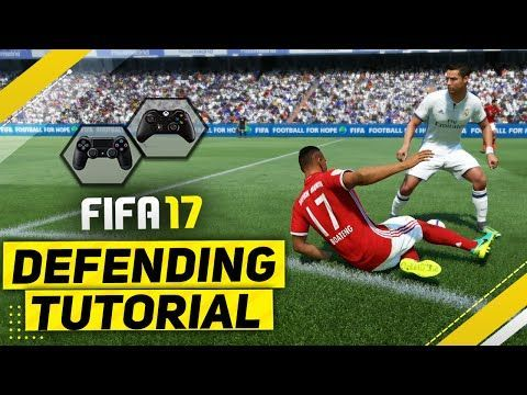 "http://www.fifa-planet.com/fifa-17-tips-and-tricks/fifa-17-defending-tutorial-how-to-defend-effectively-best-way-to-tackle-contain-jockey-2/ - FIFA 17 DEFENDING TUTORIAL / How To Defend Effectively - BEST Way To TACKLE, CONTAIN & JOCKEY  FIFA 17 FULL DEFENDING TUTORIAL / How and when to use the STANDING / SLIDING TACKLE, JOCKEY MOVEMENT, 2ND MAN PRESS – TIPS & TRICKS ►Buy cheap & safe coins here  15% Discount Code ""Ovvy"" ►Cheap Games & Co"