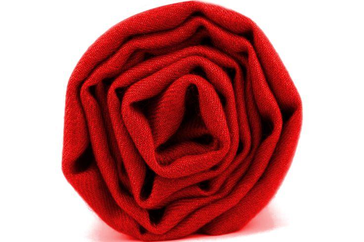 Écharpe cachemire rouge indien d'inde