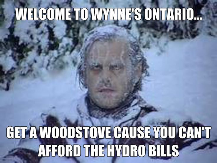 Good Luck, Wynne...heard you were even going to clamp down on woodstoves and woodfurnaces....to electric heat.  You will be out the door if it comes to this one!!