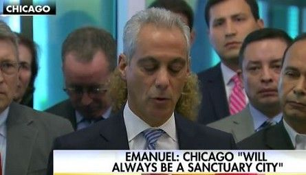 Mayor says Chicago will 'always be a sanctuary city' in face of deportation threats - http://conservativeread.com/mayor-says-chicago-will-always-be-a-sanctuary-city-in-face-of-deportation-threats/