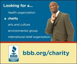 Search for charities in our database of reviews. You can search by name, website URL, phone number, email address, or by type of charity. If the group is BBB accredited, then they met our high standards.