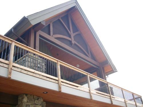 Best Railing Idea Traditional Porch House Design Folding Walls 400 x 300