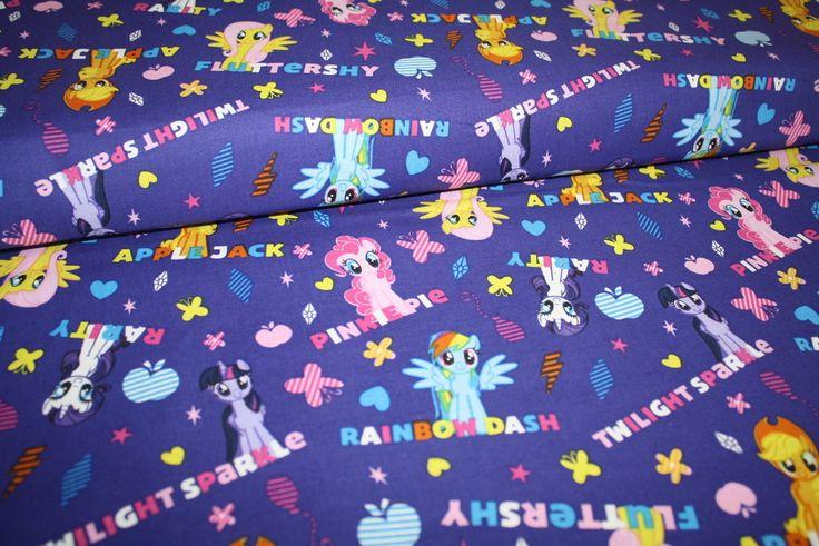Funky Monkey Fabrics Inc. - Disney My Little Pony MLP Ponies