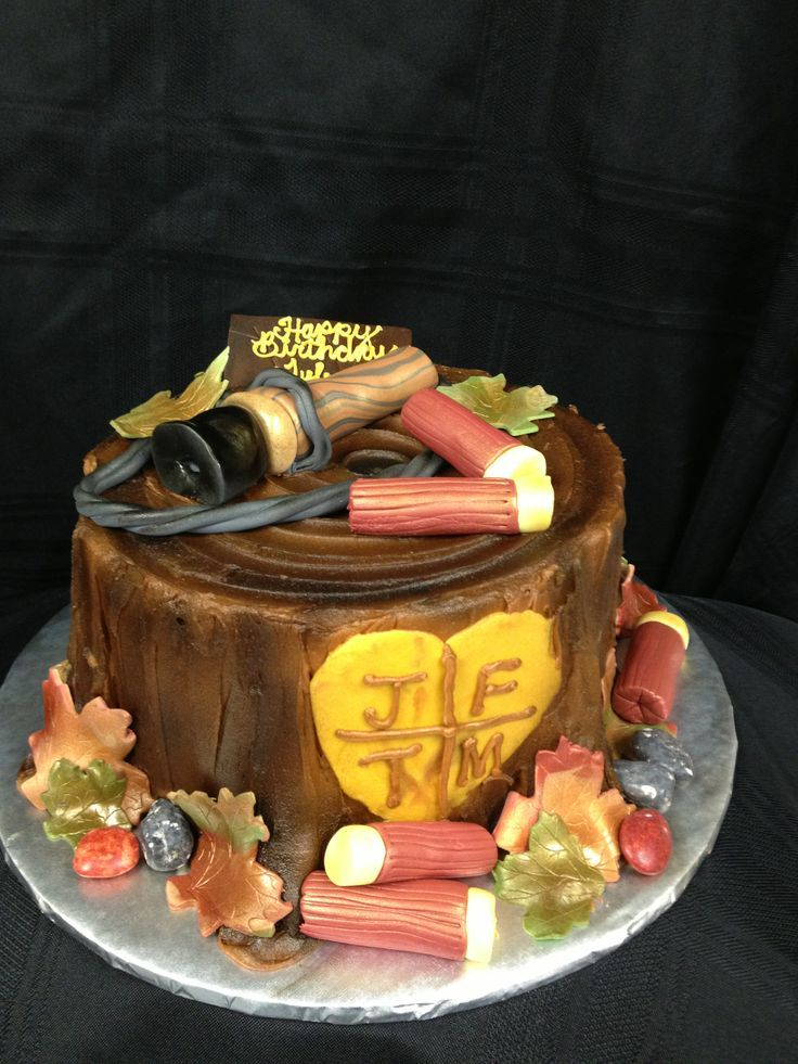 17 Best images about Cake Decorating~Fishing and Hunting ...