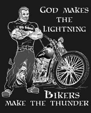 Bikers make the thunder