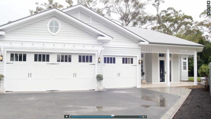 Mt Kembla House inspo -  Garage doors, arbour, porch trim