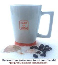 Tasse gratuite avec tout achat effectué avant le 22 janvier minuit! #Promo #Coffee #Mug