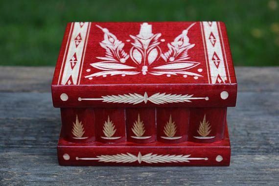 Decorative box Personalized gift SECRET BOX puzzle box brain