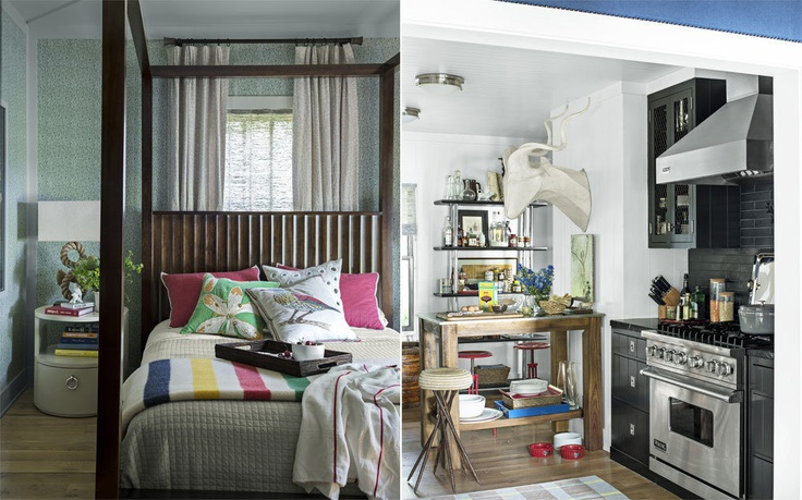 Inside Thom Filicia's Anti 'Musty Camp Cliché' Lake House - The Printed Page - Curbed National