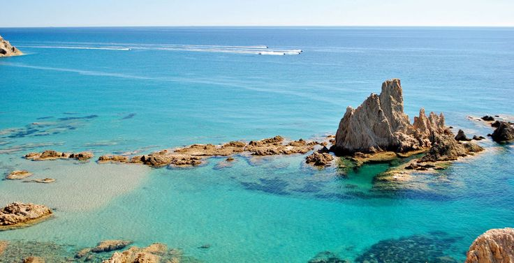 Arrecife de las Sirenas en Cabo de Gata #Almería
