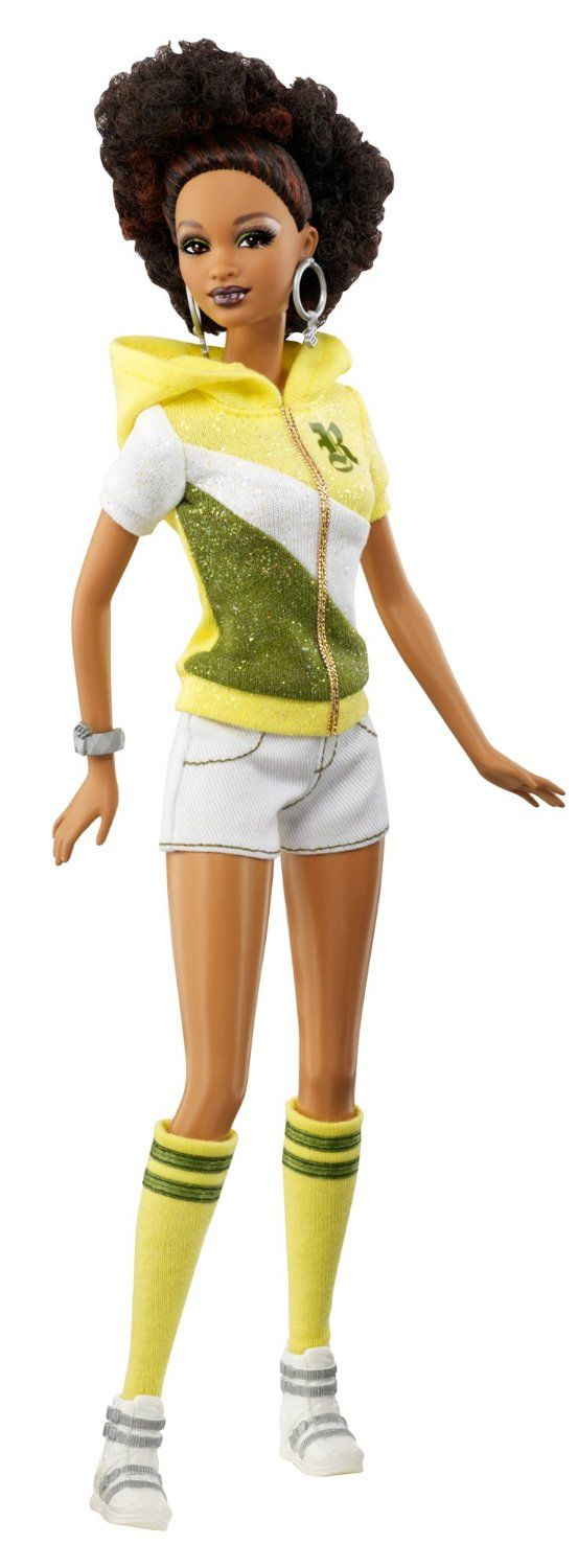 Amazon.com : Barbie So In Style S.I.S Rocawear Trichelle Doll : Ethnic Fashion Dolls : Toys & Games