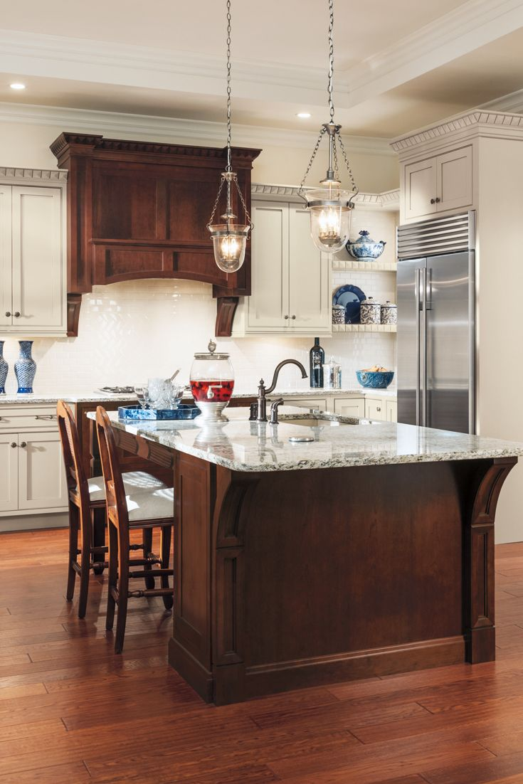 Whether Your Style Is Traditional Modern Rustic Or Something In Between Our Family Of Cabinet Brands C Rustic Farmhouse Kitchen Kitchen Decor Kitchen Design