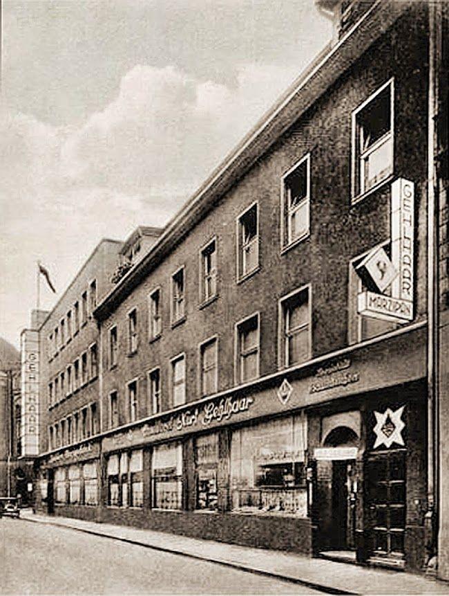 Koenigsberg 1935 Konditorei und Marzipanfabrik in der Kantstrasse