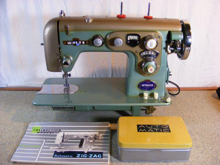 white sew sewing machine
