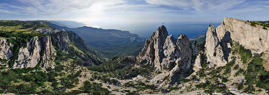 Ai-Petri in Crimea, Ukraine | 360 Degree Aerial Panorama | 3D Virtual Tours Around the World | Photos of the Most Interesting Places on the ...