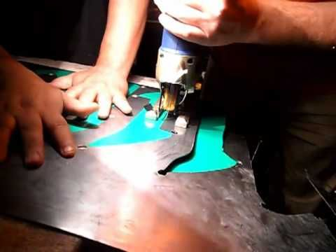 como hacer letras metalicas de lamina, parte 1.mp4 - YouTube