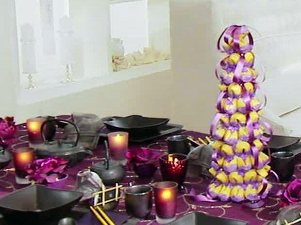 Tablescape Centerpiece: Fortune Bush Recipe : Sandra Lee : Food Network - FoodNetwork.com