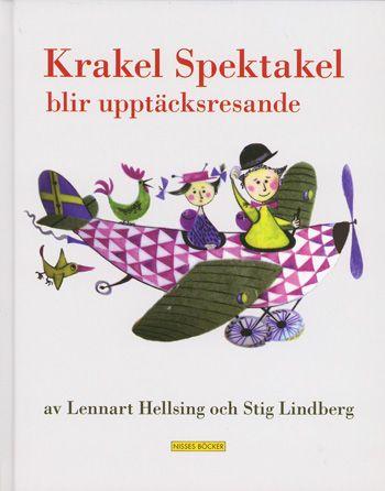 スティグ・リンドベリ Stig Lindberg:絵 レンナート・ヘルシング Lennart Hellsing:著 / Krakel Spektakel blir upptacksresande