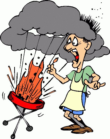 Image result for grilling cartoon images