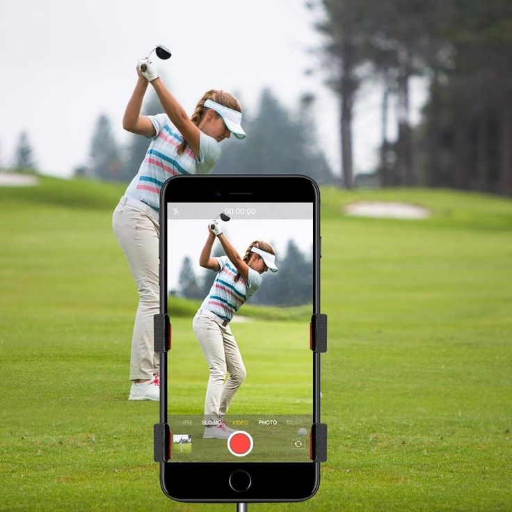 SelfieGOLF Record Golf Swing 353 innovation technology
