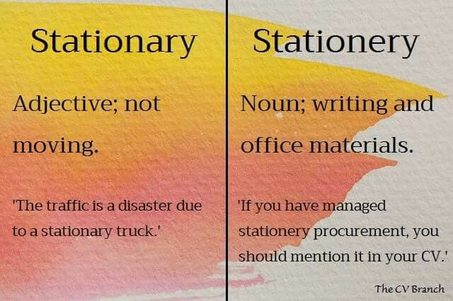 Confusing words #7 #TheCVBranch #professionalCVwriting #editor