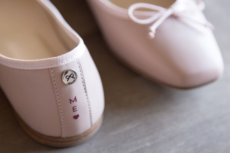 A personal touch on your ballerinas   #JosefinasPortugal #PinkPower