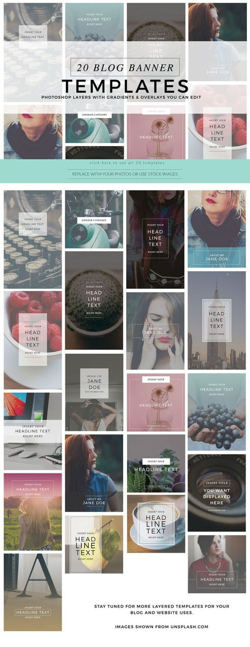FREEBIE+:+Blog+Instagram+Pinterest+BANNERS+TEMPLATES+to+use+for+your+site+&+social+media+posts