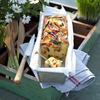 Cake Sal Ef Bf Bd Courgettes Jambon