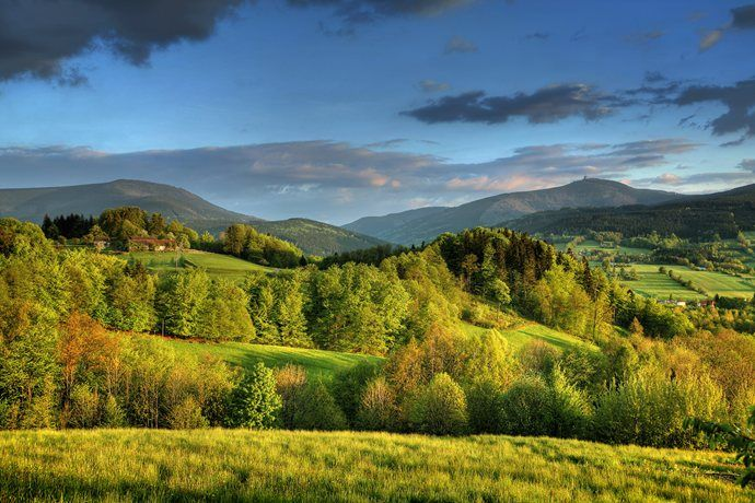 Beskydy Mountains in Summer, #czechrepublic