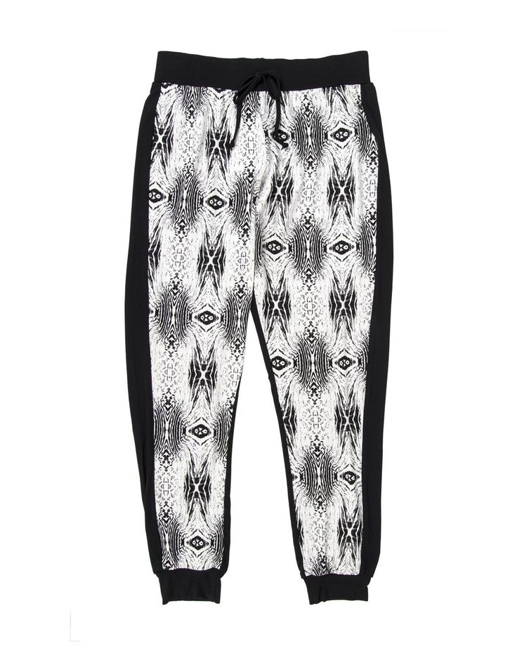 Print Woven Joggers