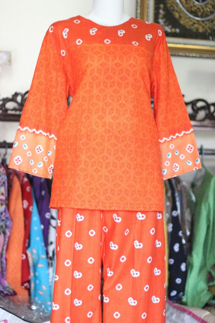 BLOUSE AND PANT WITH JUMPUTAN AND EMBOS by Feel Good  For order 08563393739