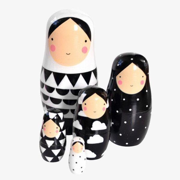Nesting dolls van PS ik hou van jou met illustraties van Sketch Inc