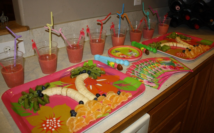 16 best images about Luau Party Tropical Candy Bar Buffet ...