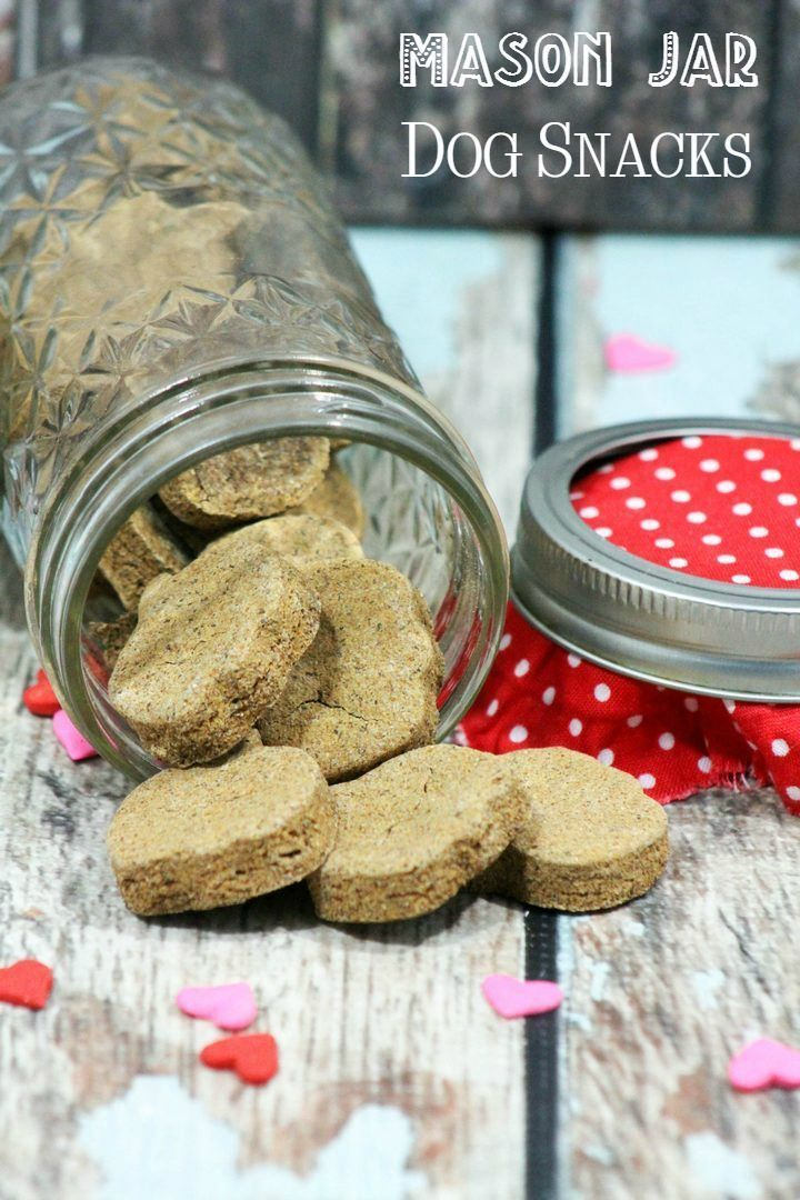 Find out how to make this  homemade dog treat recipe that is perfect for Christmas gift giving.  It's so easy to make!