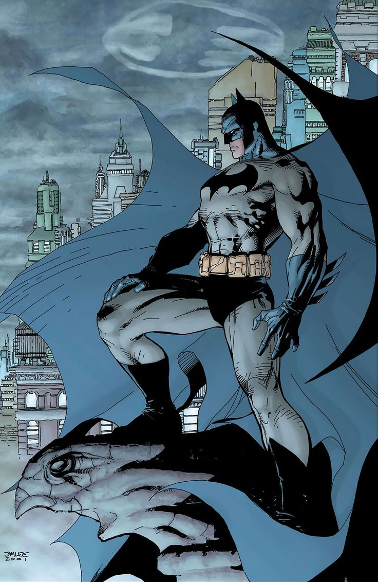 Bat Man The Hush Covers 2nd printing